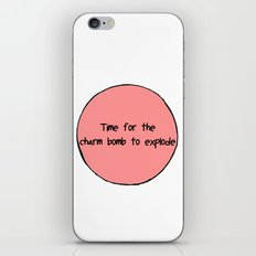 Charm Bomb iPhone & iPod Skin