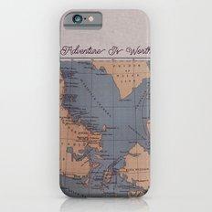 Adventure Is Worthwhile iPhone 6s Slim Case