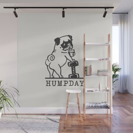 HUMPDAY Wall Mural