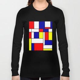 Mondrian #38 Long Sleeve T-shirt