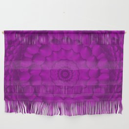 Symmetry in Pink Wall Hanging