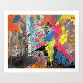parot Art Print