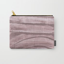 Rosy brown colored watercolor design Carry-All Pouch