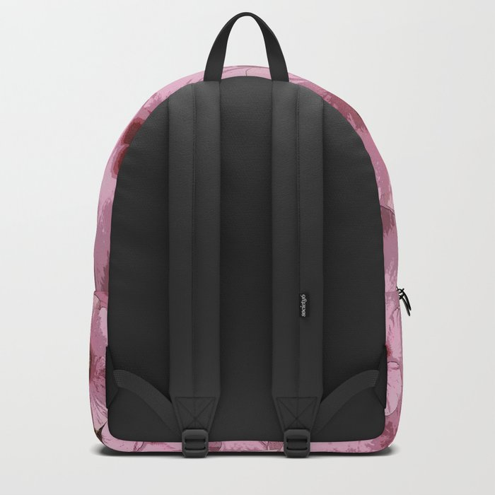 Pink Hibiscus World Backpack