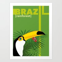 Brazil [rainforest] Art Print