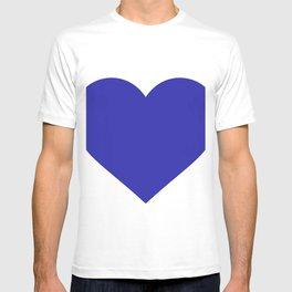 Heart (Navy Blue & White) T-shirt