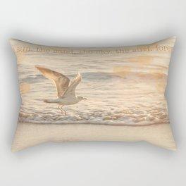 Sunset Beach Love Rectangular Pillow