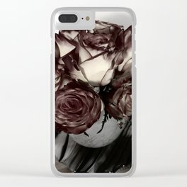 Phoenix Roses Clear iPhone Case