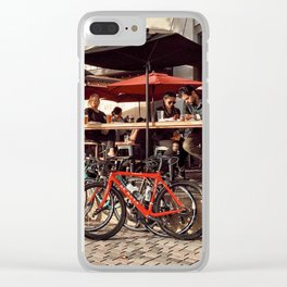 Afternoon drink Clear iPhone Case