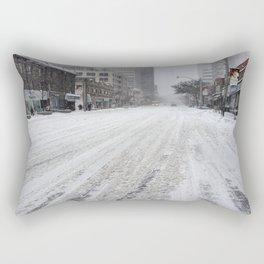 Toronto Snow Storm  Rectangular Pillow