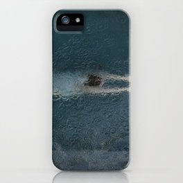 Woman Diving iPhone Case