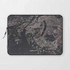 Copenhagen city map Laptop Sleeve
