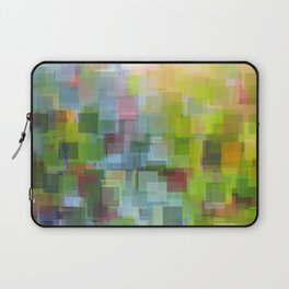 Abstract Grassy Field Laptop Sleeve