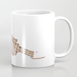 Telluride Colorado Map Coffee Mug