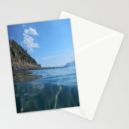 athens  Αθήνα sea Stationery Cards