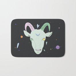 Vegan Cosmic Goat Bath Mat