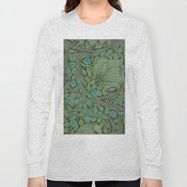 "William Morris ""Forget-Me-Nots"" (""Pimpernel"" detail) Long Sleeve T-shirt"