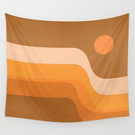 Endless Sunset Wall Tapestry