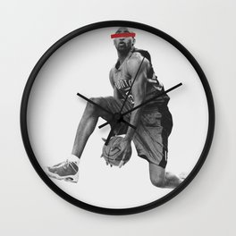 even with my eyes closed Wall Clock