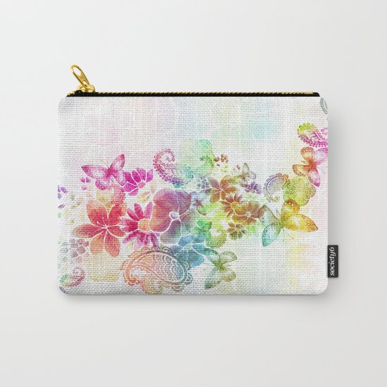 paisley flutter Carry-All Pouch