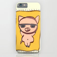 Pig On A Blanket iPhone 6 Slim Case