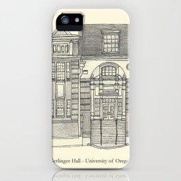 Gerlinger Hall iPhone Case