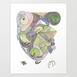 Drawing #7 Art Print