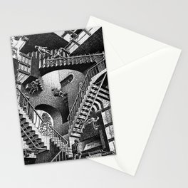 M.C. Escher - Relativity Stationery Cards