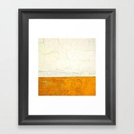 Goldness Framed Art Print