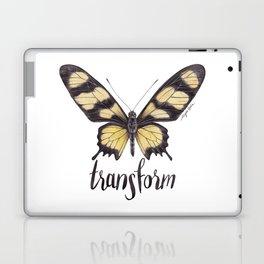 Butterfly Painting   Hahnel's Amazonian Swallowtail   PARIDES HAHNELI   Nature   Animal Art Laptop & iPad Skin