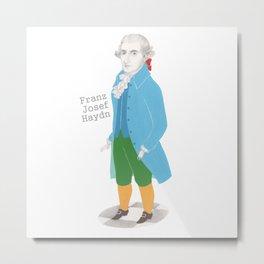 Franz Josef Haydn Metal Print