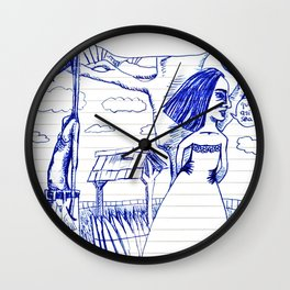 1996-02-02 aka «que así sea» Wall Clock