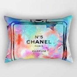 No 5 Snowy Rectangular Pillow