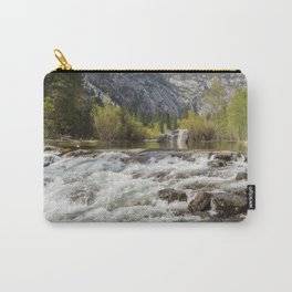 Mirror Lake and Rapids at Yosemite Carry-All Pouch