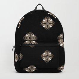 Simulated illuminated diamond pattern Backpack
