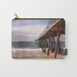 California Pacific Ocean Pier Carry-All Pouch