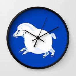 Fat Horse Wall Clock