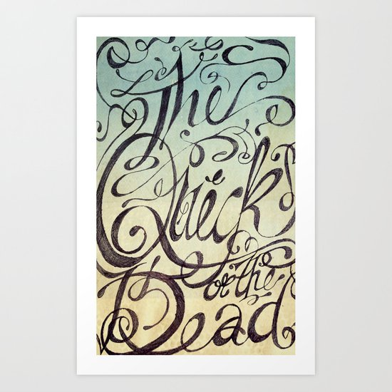 The Quick or the Dead Art Print