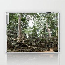 Ta Phrom, Angkor Archaeological Park, Siem Reap, Cambodia Laptop & iPad Skin