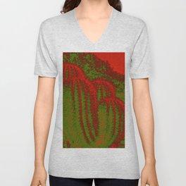 Cacti Abstract I Unisex V-Neck