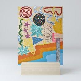 los angeles Mini Art Print