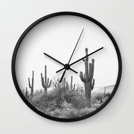 DESERT / Scottsdale, Arizona Wall Clock