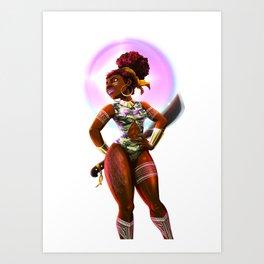 WonderFull Woman Art Print