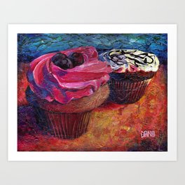 Cupcakes for Layla Art Print