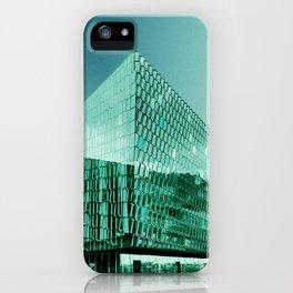 Iceland: Hapra Concert Hall iPhone Case