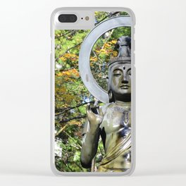Japanese Autumn #1 Clear iPhone Case