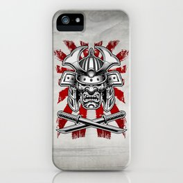 Samurai Mask iPhone Case