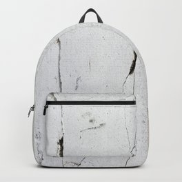 Cracks in Concrete rustic decor Backpack