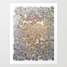 Shell Be Geodes Art Print