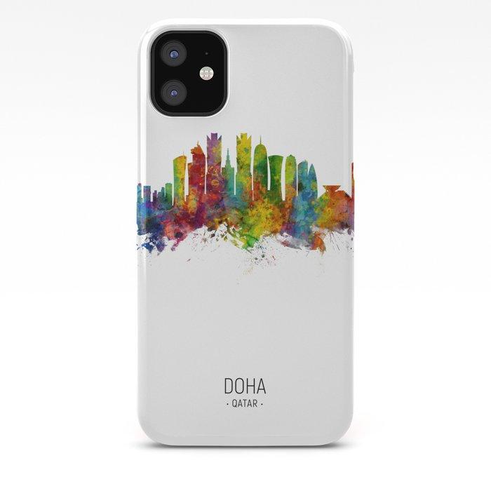 Doha Qatar Skyline Iphone Case By Artpause